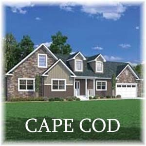 Cape Cods/Chalet Homes - Carriage Custom Homes