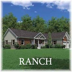 Ranch Homes - Carriage Custom Homes