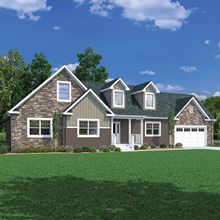 Cape Cod Style Custom Systems Built Homes