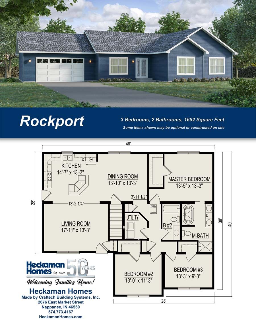 The Rockport - Carriage Custom Homes